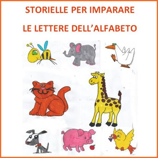 Favoloso Studiamando liberamente: Storielle per imparare le lettere dell  GZ13