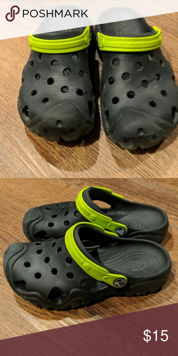 f76eab69560456 Boys Crocs size 3 Boys Crocs size 3 excellent condition CROCS Shoes Sandals    Flip Flops