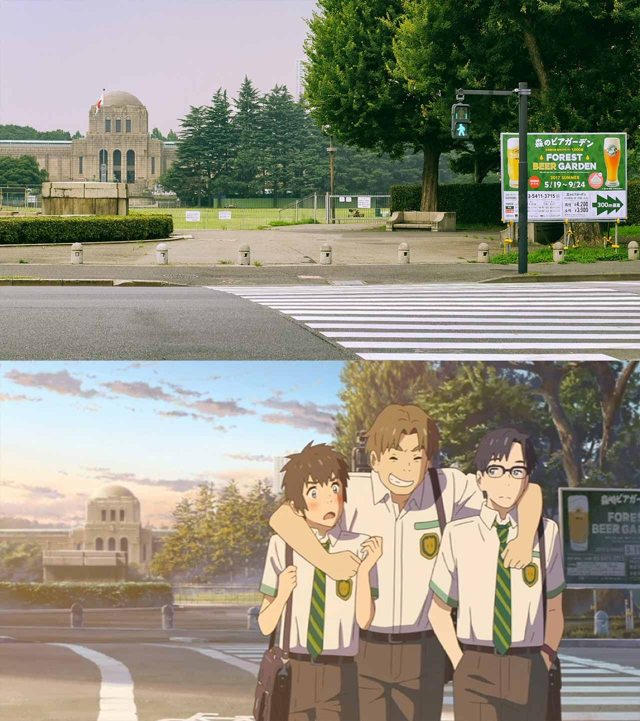 A Pilgrimage to the Real Life Locations of Your Name