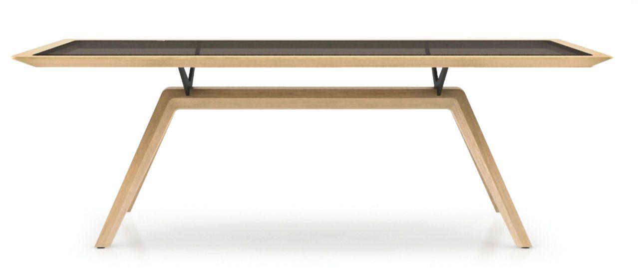 Solid Tisch Kreuzfuss Tisch Holzdesign Holz