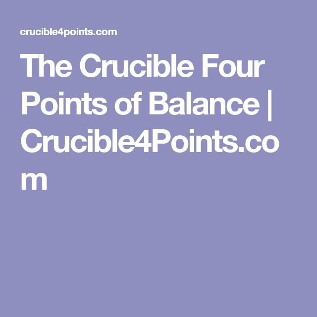the crucible relationships