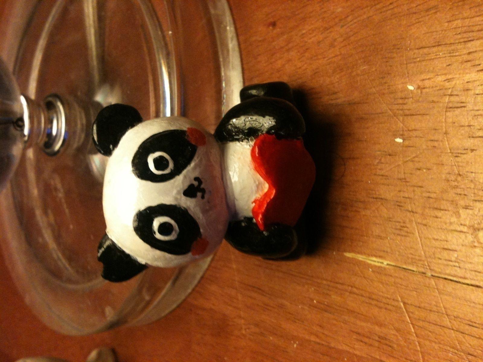 Panda Clay, Air dry clay, Sculpting