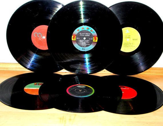 Vinyl Records 10 Assorted Vinyl Records 12 Inch Vinyl Etsy Vinyl Records Vintage Vinyl Records Vinyl