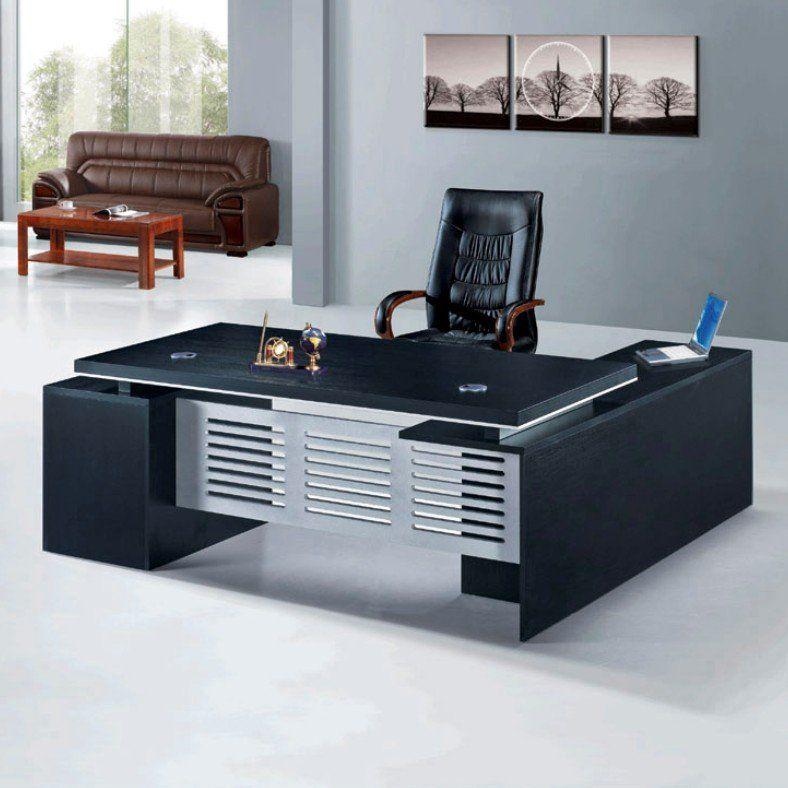 Modern, Round U Shaped Desk With Metal | Office Environments   Desks,  Decor, Design | Pinterest | Desks And Modern