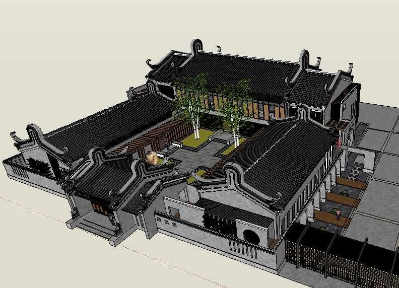 20 Types Chinese Landscape Sketchup 3D Models】 (With
