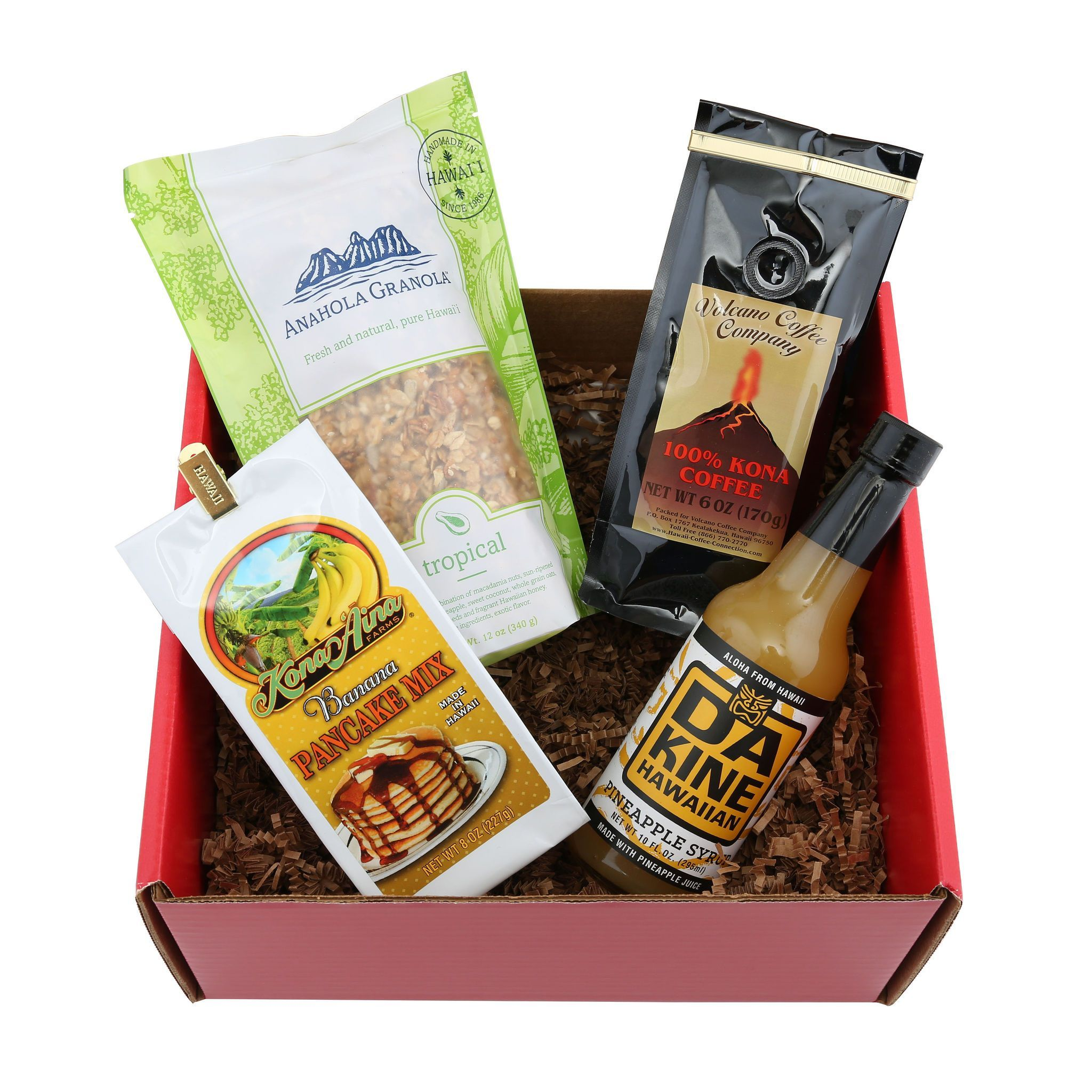 Taste of Aloha Island Breakfast Gift Box Breakfast