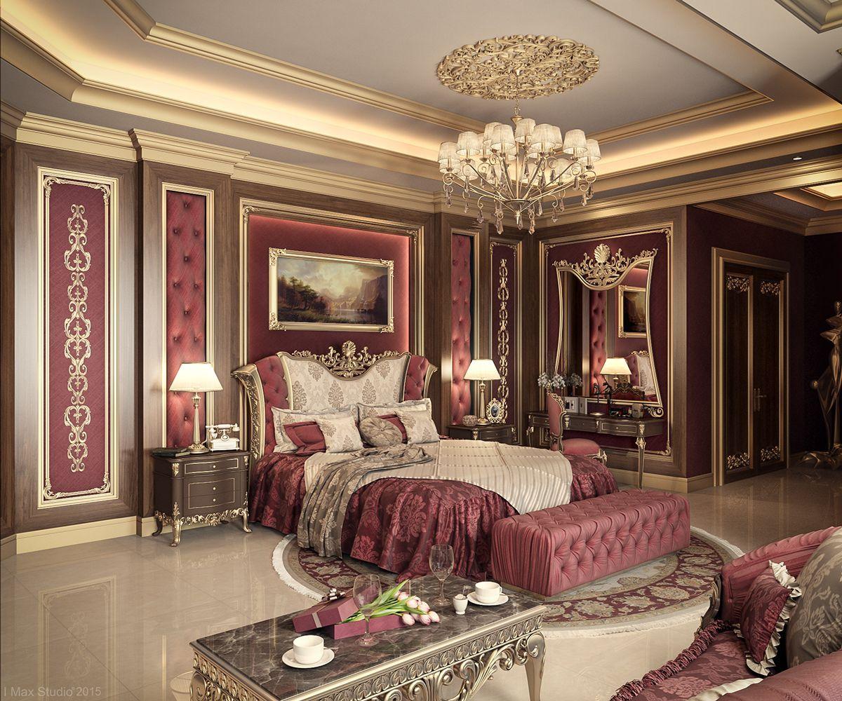 Luxury Master Bedroom Dubai On Behance: Luxurious Bedrooms, Luxury