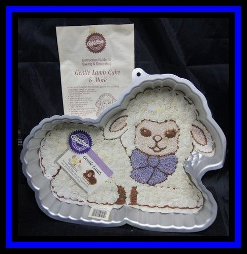 Wilton Gentle Lamb Easter Cake Pan Complete 2515 GUC | eBay