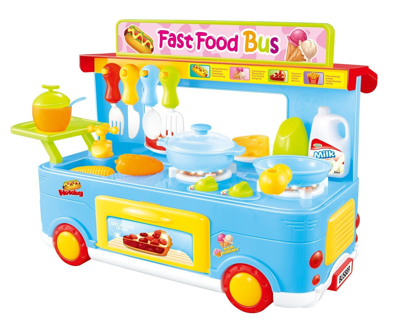 Kidkrazy pretend play food cooking toys play food