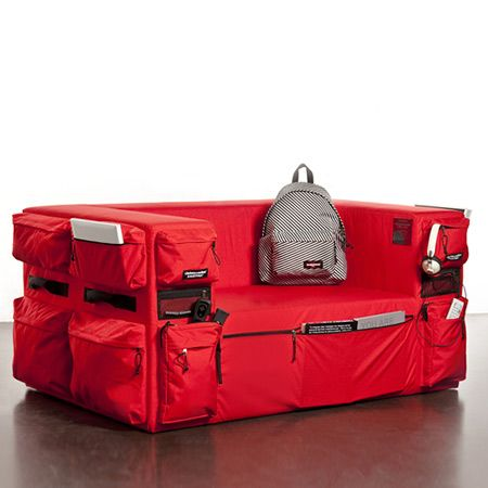 Going Somewhere? You May Want To Take This Backpack & Suitcase Furniture With You