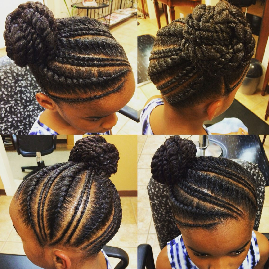 These 3 Cute Flat Twist Hairstyles Take Winning Prize For