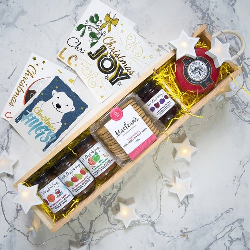 TASTE OF CHRISTMAS   gift box — The Pickled Shop  #christmas #christmasgifts #christmasgiftsforher #christmasgiftsforhim #christmaslove #xmas #xmasgifts #christmaspresents #christmashamper #hamper #giftbox #pickles #preserves #cheese #cheeselover #cheeseandbiscuits #cheeseboard #giftsforher #giftsforhim #gifts #thoughtfulgifts #christmasjoy