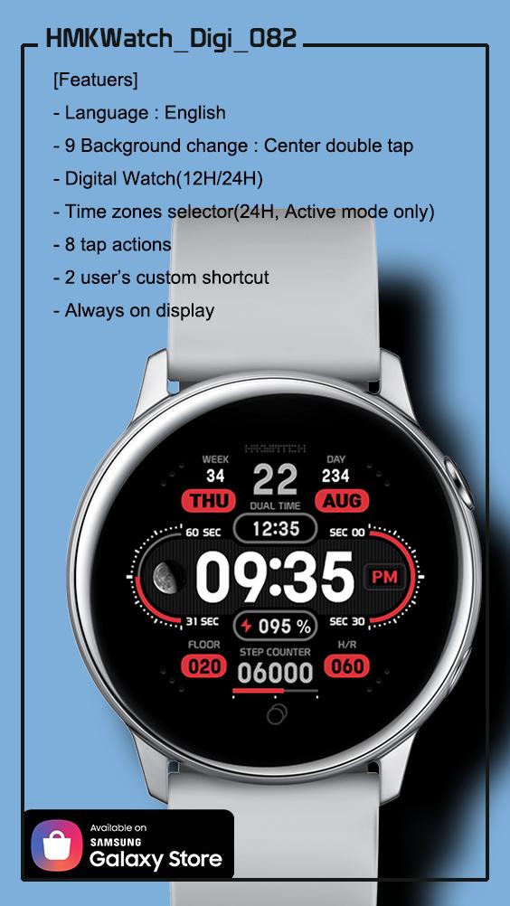 Digital Watch by Penny Shen Samsung watches, Watch