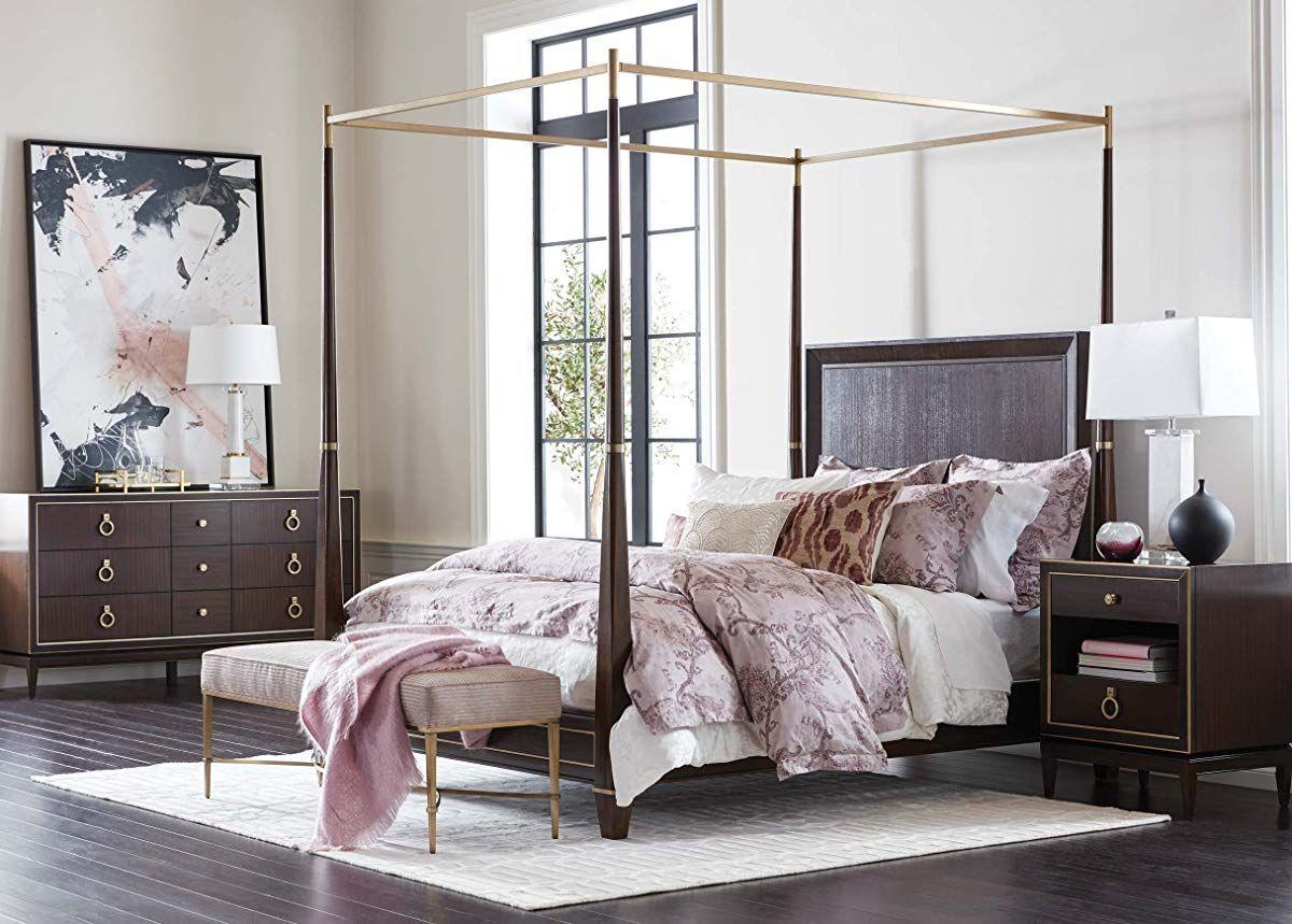 Poster Bed, King, Hickory Furniture, Solid wood dresser