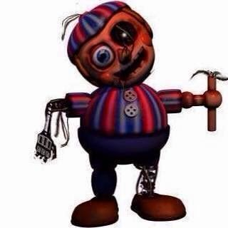 Broken Balloon Boy Why Would His Spherical Hands Need Fingers Are Those Wires Coming From His Sign Fnaf Disney Characters Favorite Character