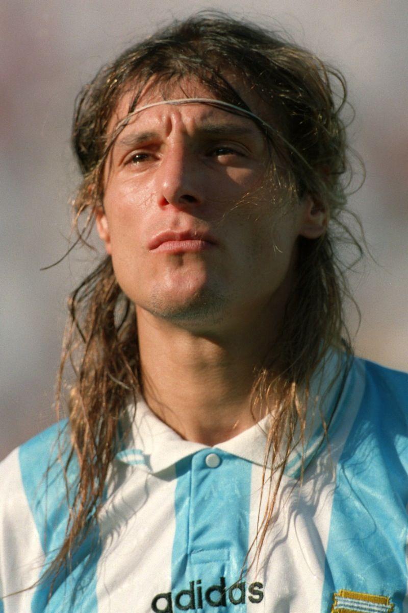 Claudio Caniggia Argentina Bombonera Boca Equipo De Futbol Y