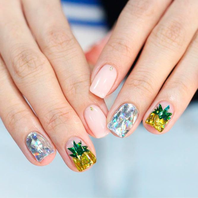 27 Lovely Nail Designs For Summer 2018 | Manicures | Pinterest ...