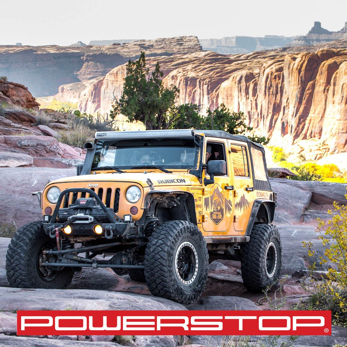 2018 The Powerstop Trail To Sema Recap Power Stop Jeep Trails Trail