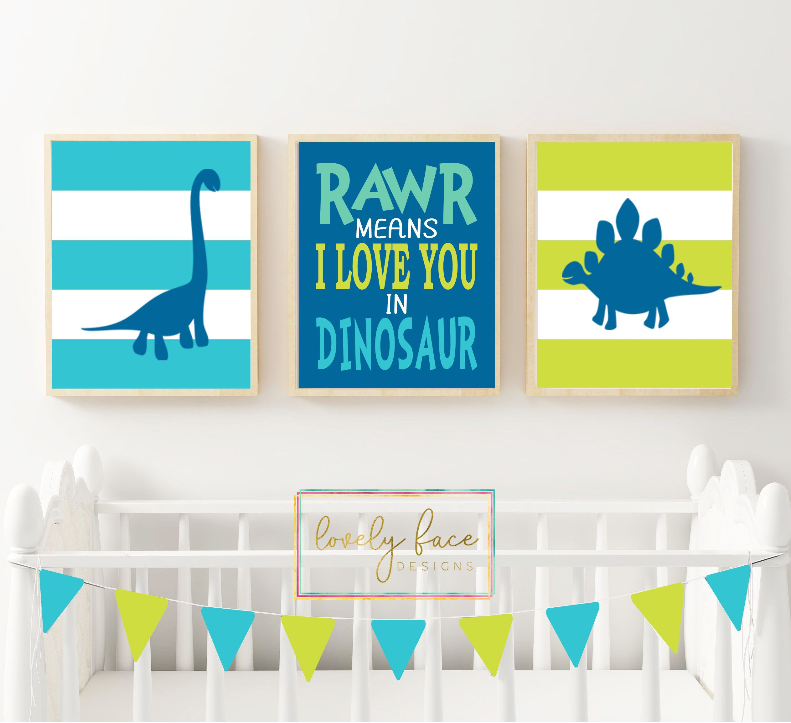 Dinosaur Decor Nursery