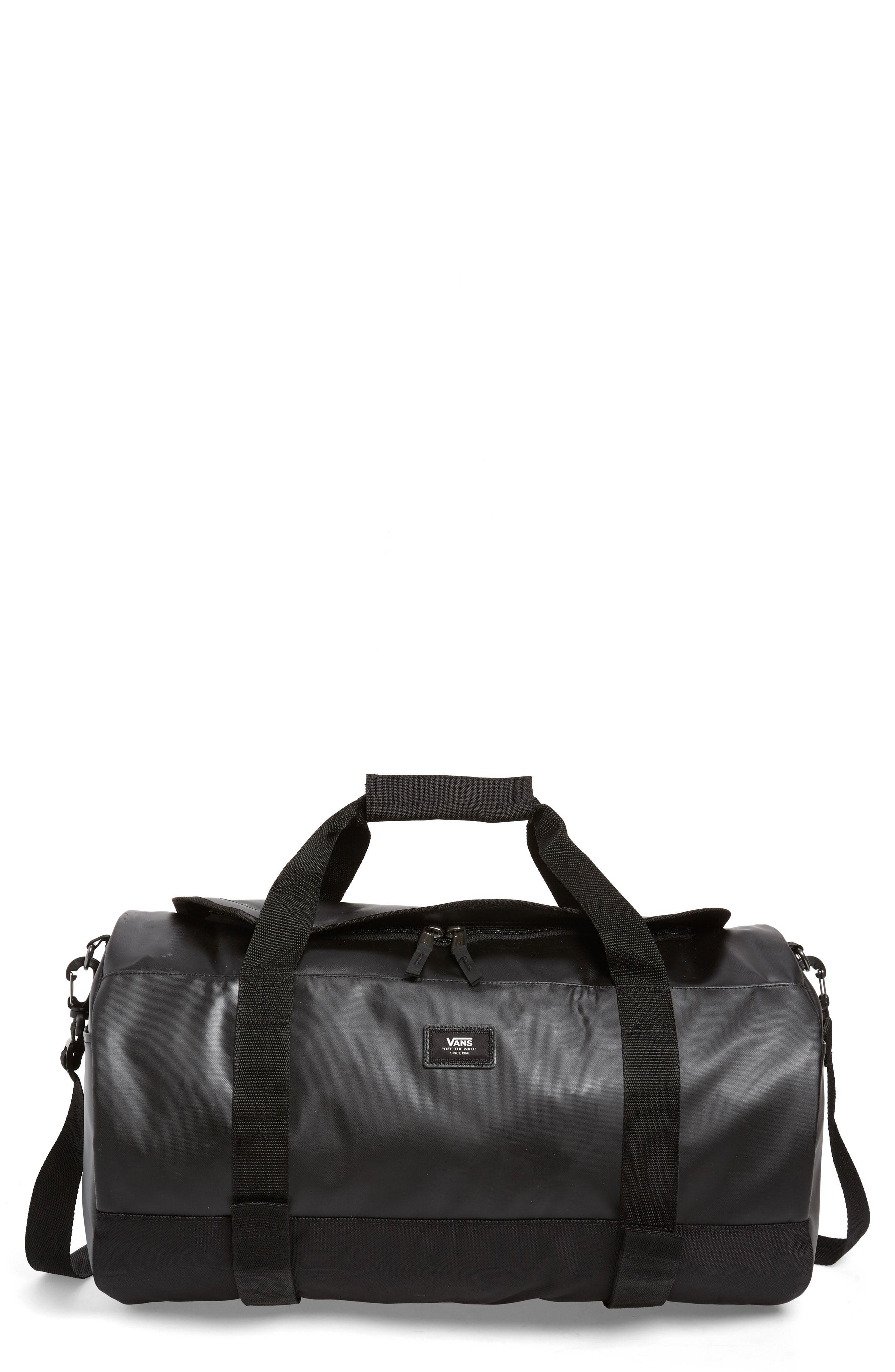 9a1365b36e VANS GRIND SKATE WATER RESISTANT DUFFEL BAG - BLACK.  vans  bags  shoulder  bags  lace