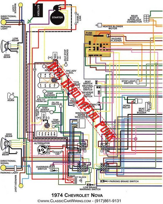 chevy nova wiring diagram1974 wiring diagram digital download clip rh pinterest com chevy nova wiring schematic 1964 chevy nova wiring schematic 1964
