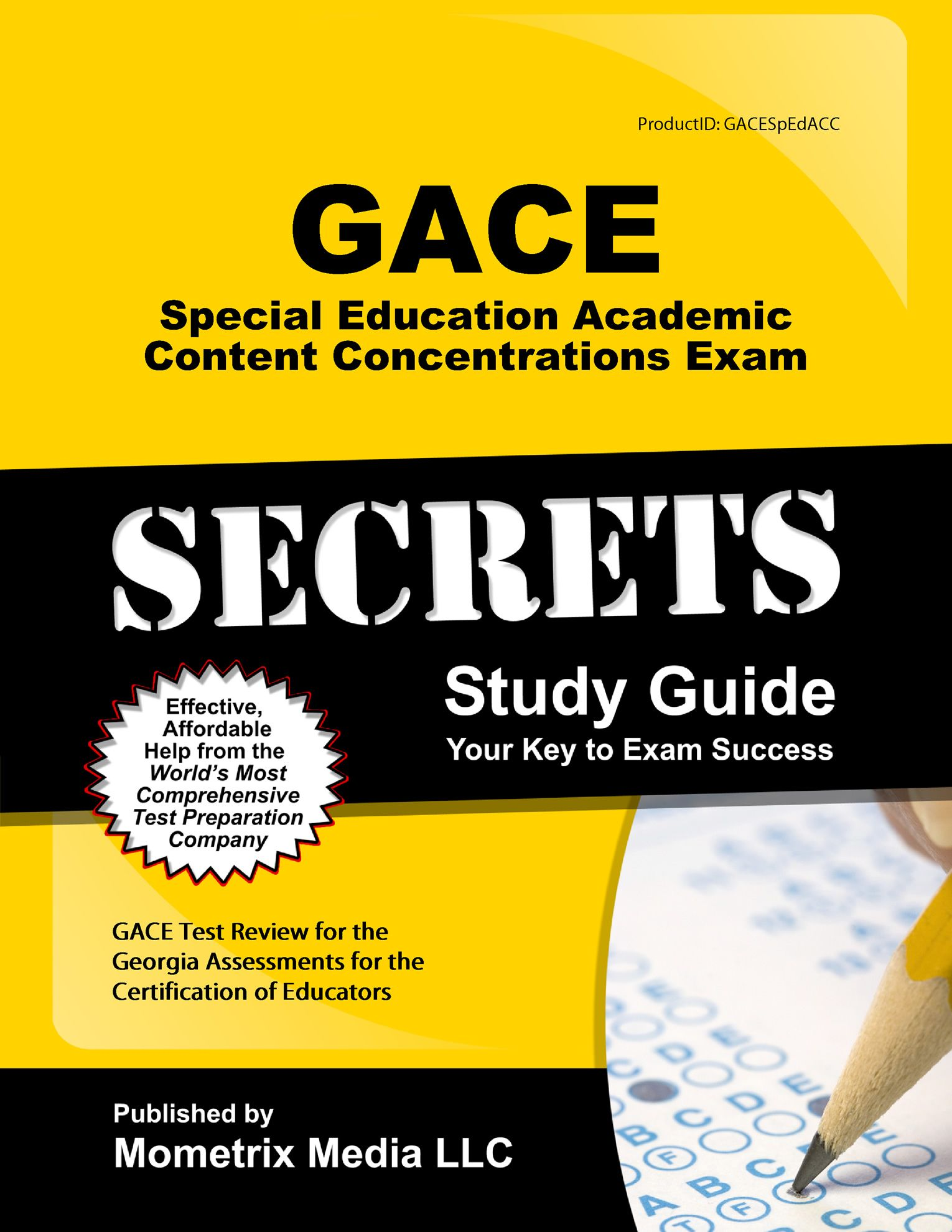 Gace Special Education Academic Content Concentrations Exam Study