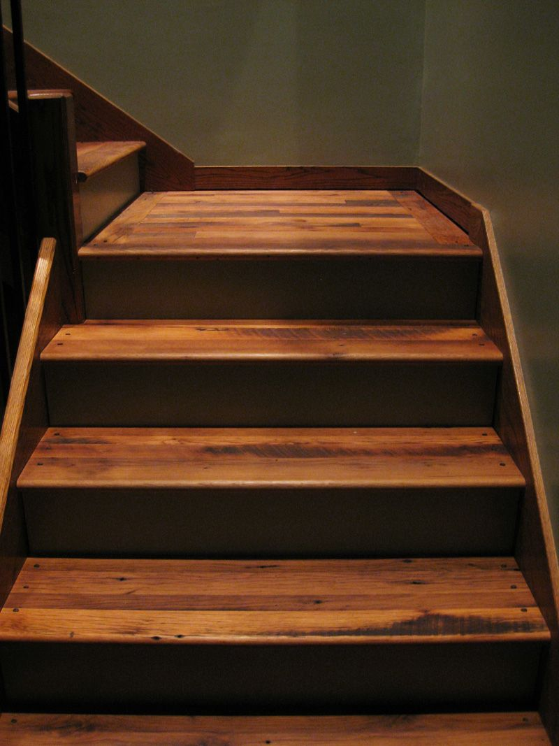 Best Aged Woods® Antique Distressed Oak Treads Hand Finished 640 x 480