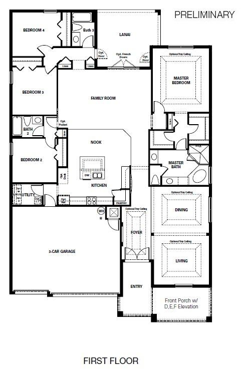New Homes By Taylor Morrison Heathrow Floor Plans New Homes