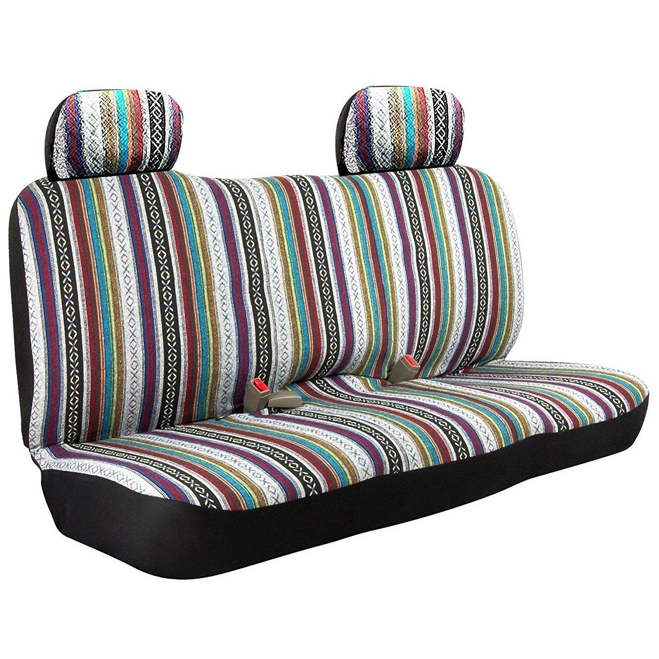 Wondrous Check Out Saddle Blanket Weave Baja Inca Bench Seat Cover Caraccident5 Cool Chair Designs And Ideas Caraccident5Info