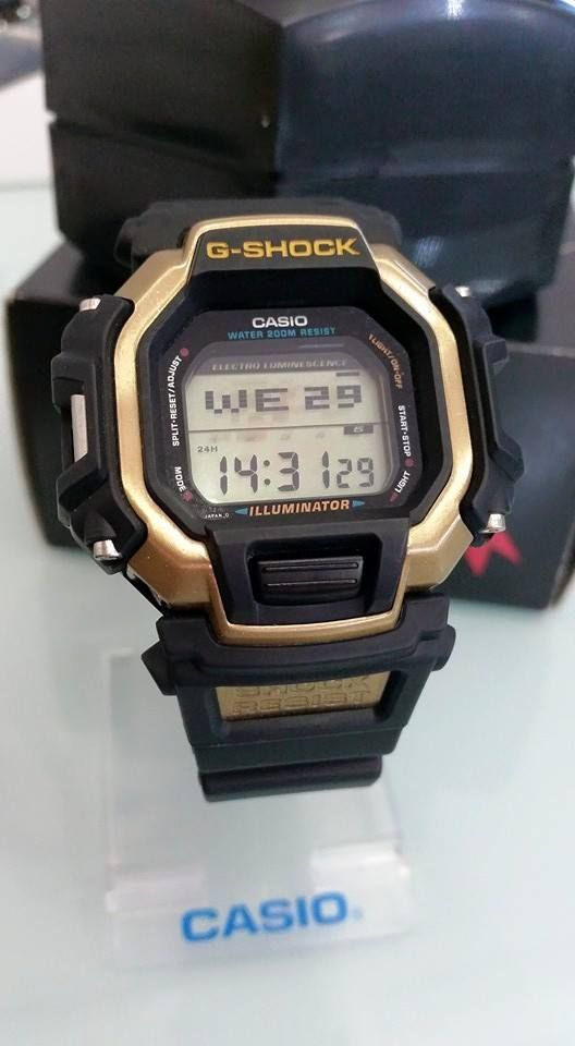 de9301f1997 Live Photos  G-Shock DW-8150 Buck Michael Gold