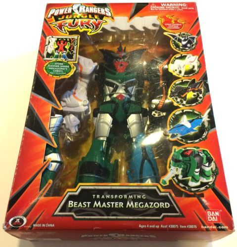 Power rangers jungle fury transforming beast master megazord sentai power rangers jungle fury transforming beast master megazord sentai new ebay voltagebd Image collections