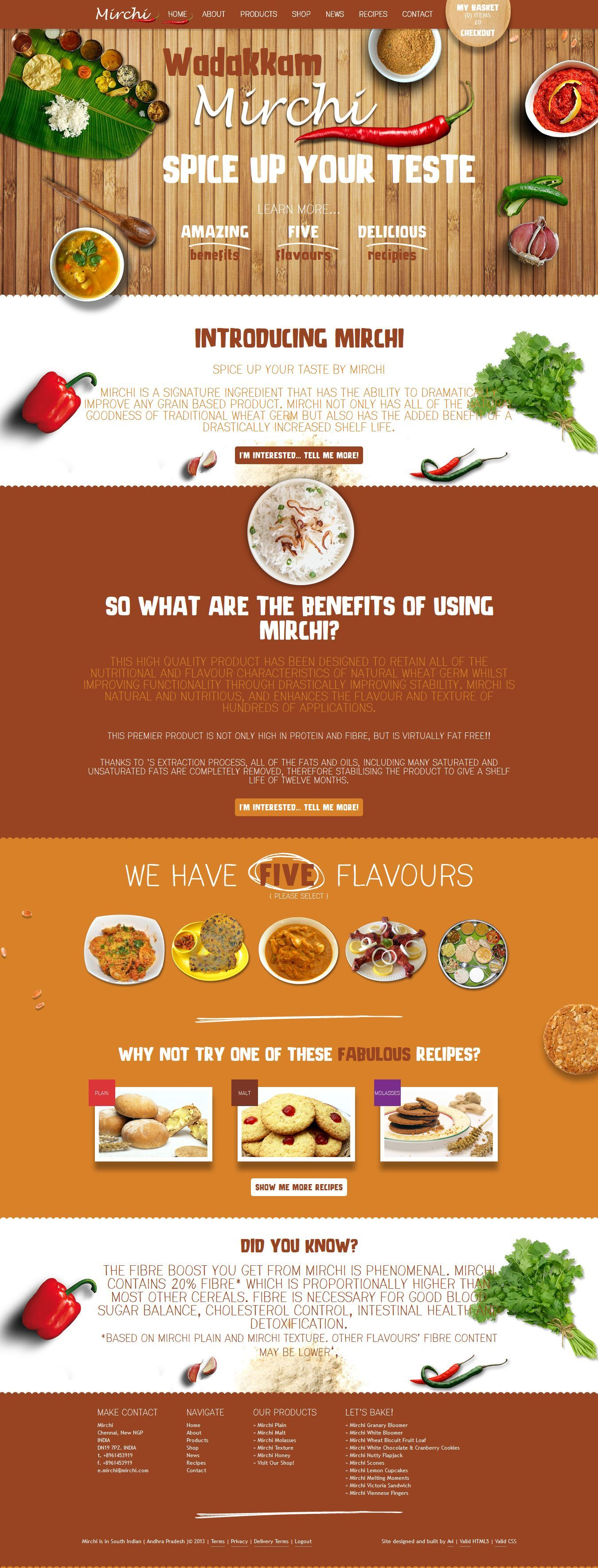 Indian Food Restaurant Site Design Web Layout Design Menu Design Food Design