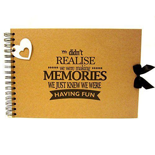 Keepsake A4//A5 Making Memories Scrapbook Landscape Card Pages Photo Album