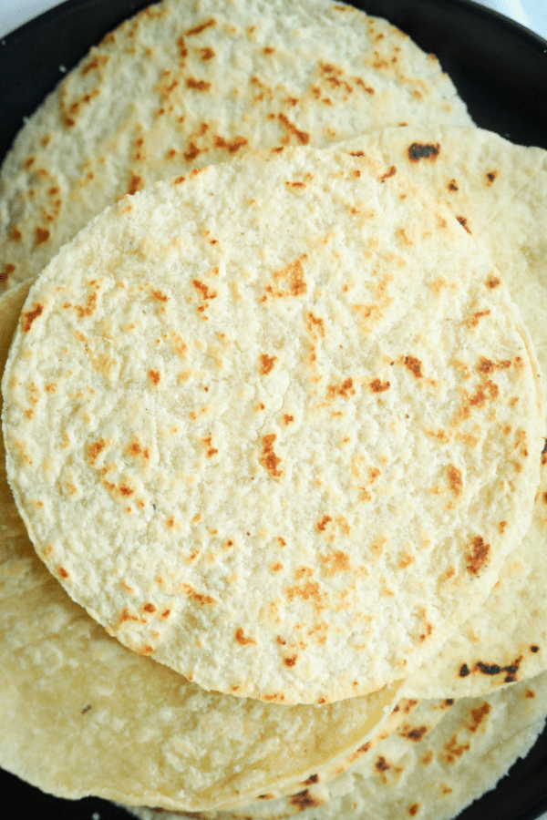 Keto Tortillas Recipe (Low Carb, & Made With Almon