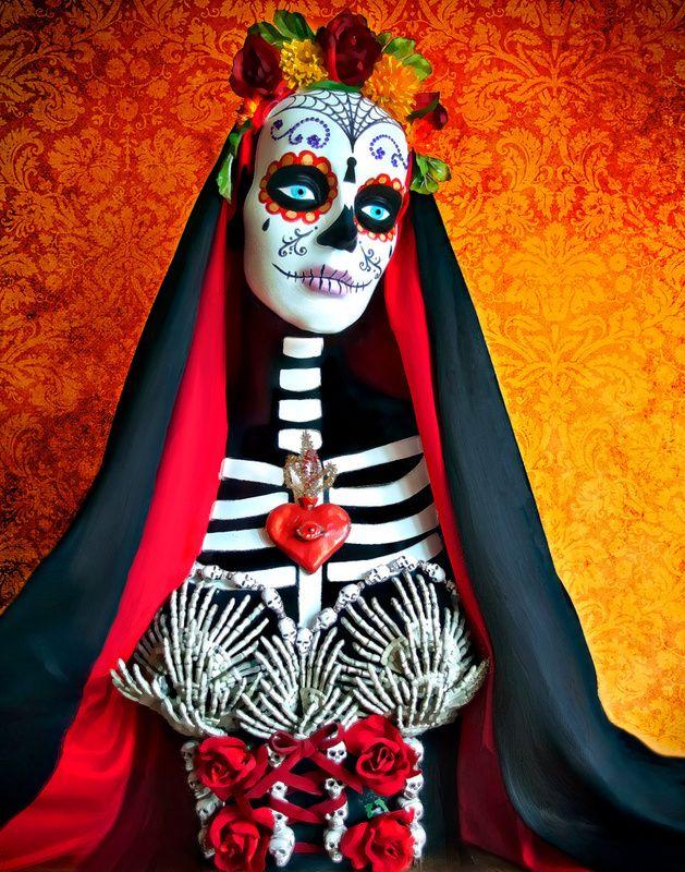 No sure if Barbie based but still love it: La Muerte ~ by Tammy Wetzel