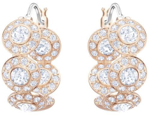cfde99af0 Swarovski Angelic Pierced Hoop Earrings : 5418271, Grey   Products ...