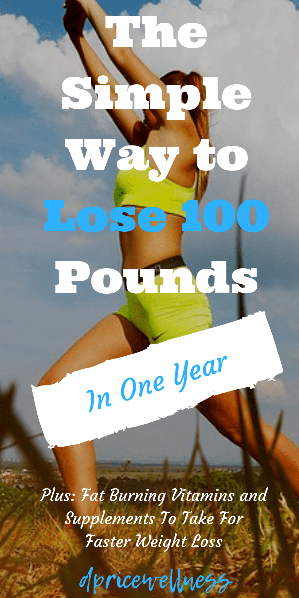 The most simple way to lose weight