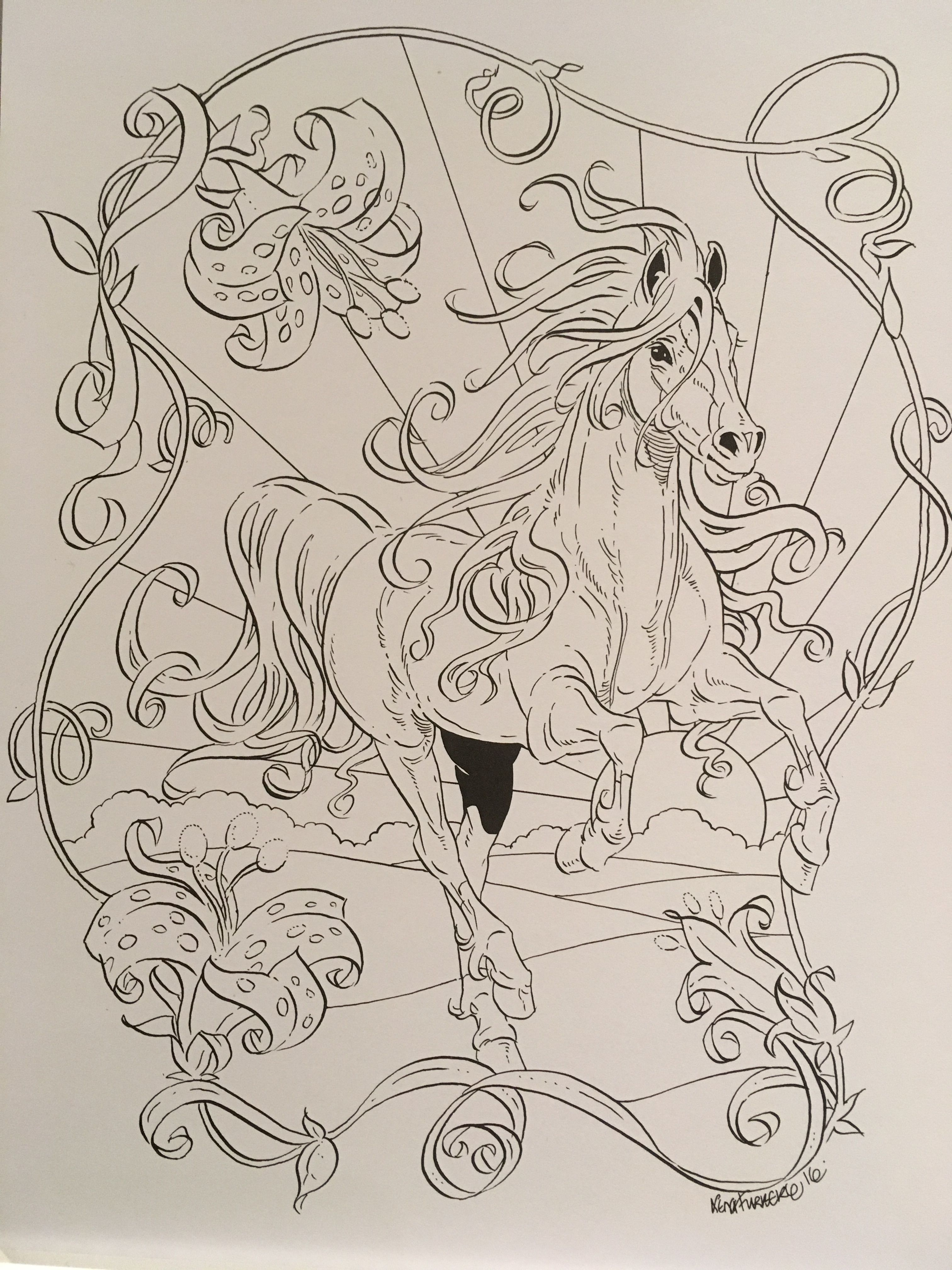From lena furbergus colouring book as close as it gets to what i