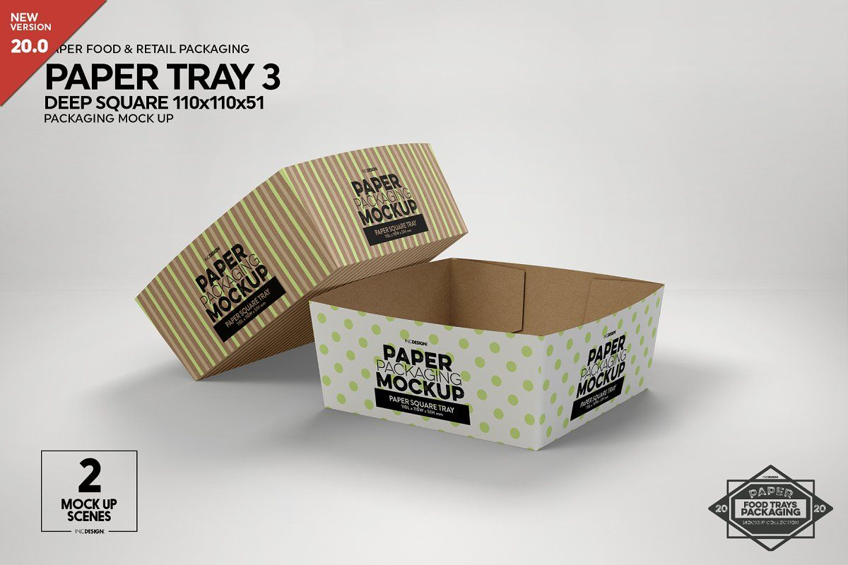 Vol 21 Paper Box Packaging Mockups Packaging Mockup Free Packaging Mockup Food Box Packaging