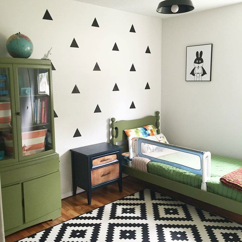Yellow And Green Kids Room Ideas: Forest Themed Kids' Rooms - By