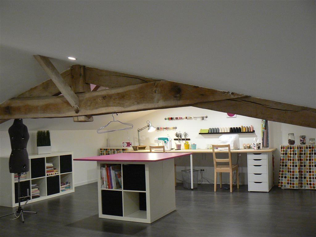 am nagement atelier our next home pinte. Black Bedroom Furniture Sets. Home Design Ideas