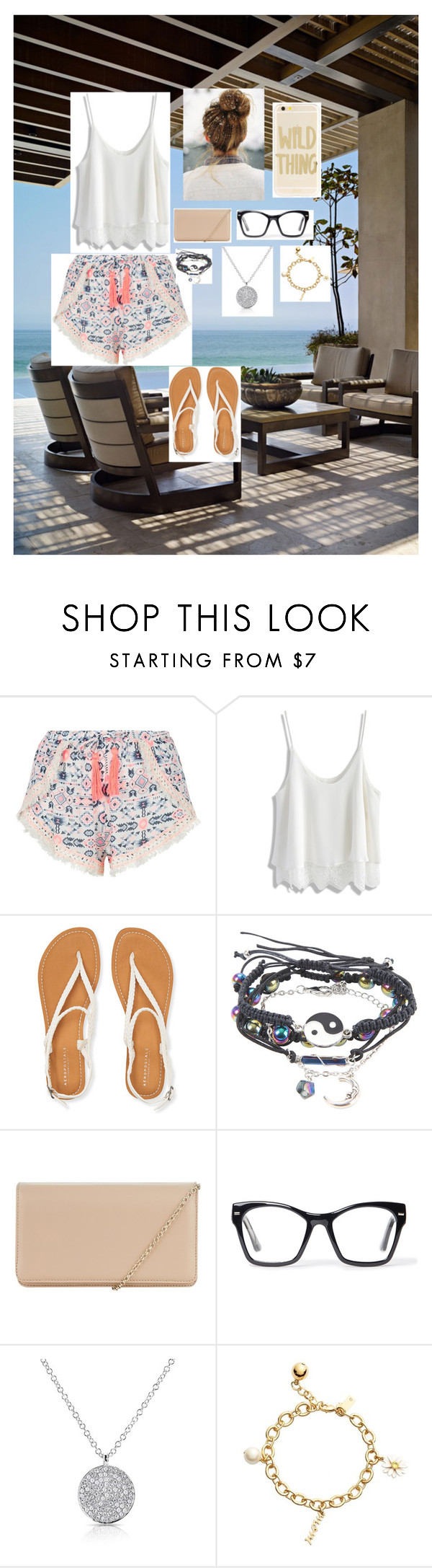 """""""A Vacation in Cozumel, Mexico"""" by fearlessreddick ❤ liked on Polyvore featuring New Look, Chicwish, Aéropostale, Hobbs, Spitfire, Anne Sisteron, Kate Spade and Sonix"""
