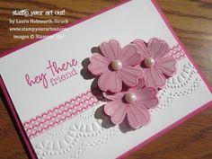 Stampin' Up!® Flower Shop Bundle Card - Stamp Your Art Out!