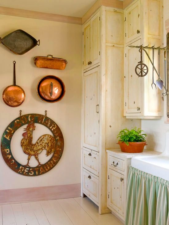Copper Mold Display On My Kitchen Wall Copper Wall Wall Molding Seasonal Decor