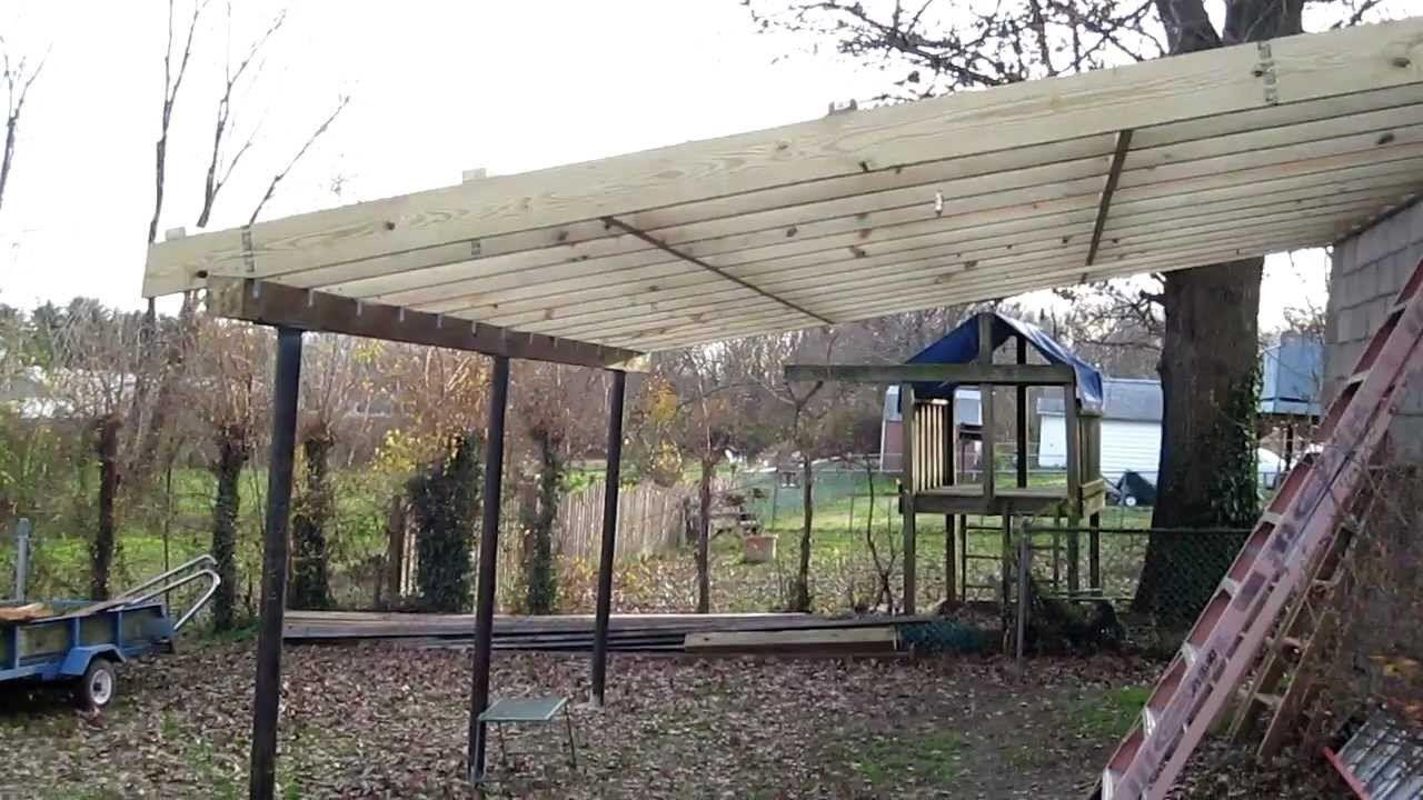 Lean to roof by Elizabeth Lowe on Garden & Outdoors