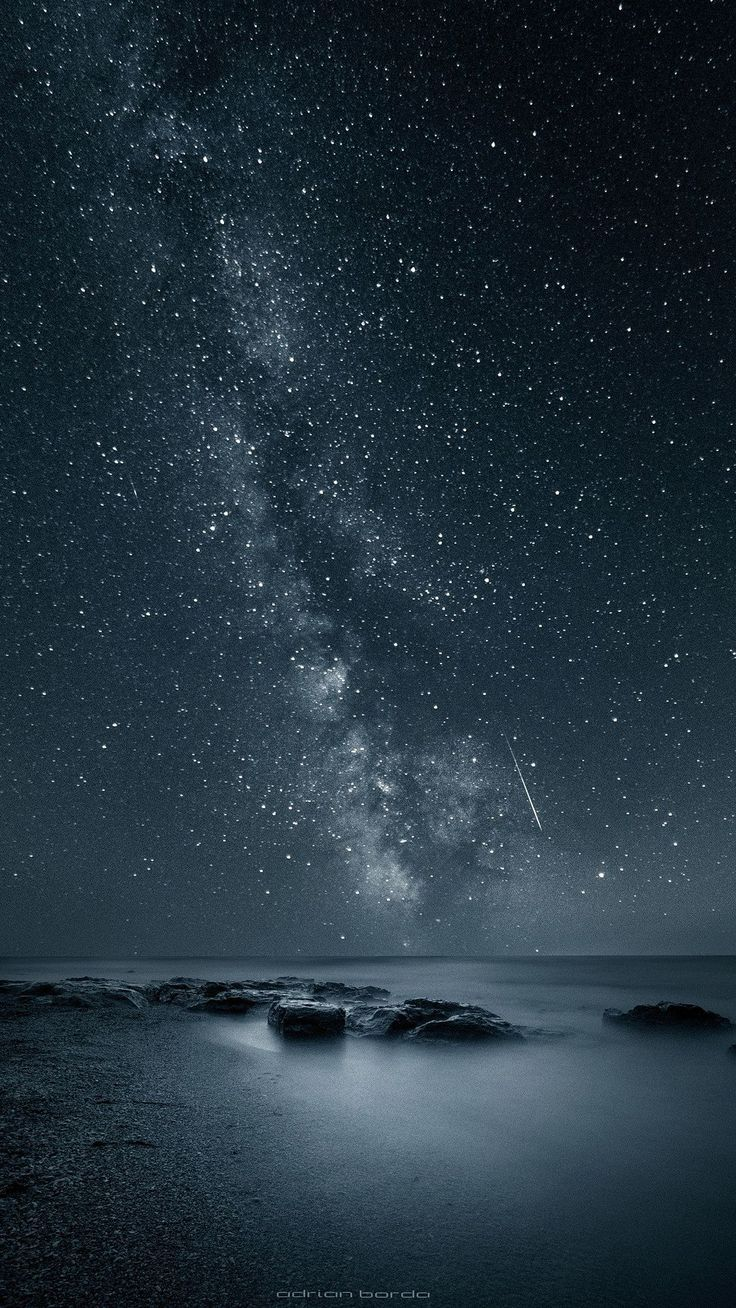 the stars in the galaxy. tap to see more beautiful nature apple