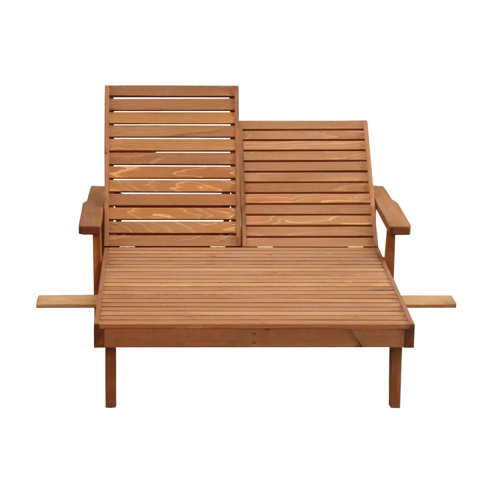 Free Shipping. Buy Best Redwood Double Summer Chaise