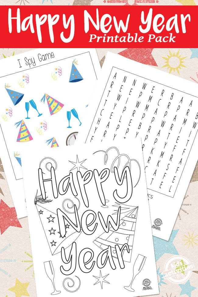 new year printables fun printables for a new year