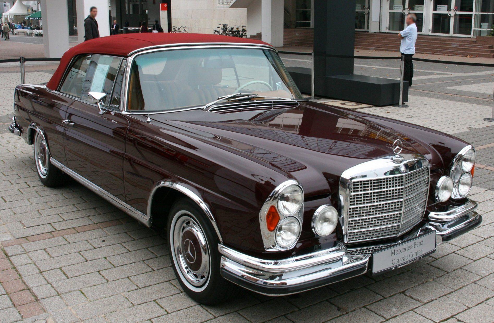 1961 Mercedes-Benz W111 (280 SE 3.5) Cabrio