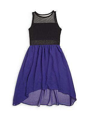 Sally+Miller Girl's+Carly+Chiffon+Dress #sallymiller